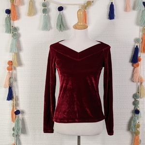 Pure Collection Velvet Top